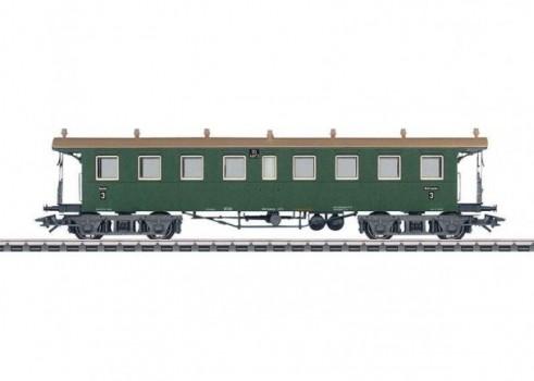Type CCi Express Train Open Platform Passenger Car