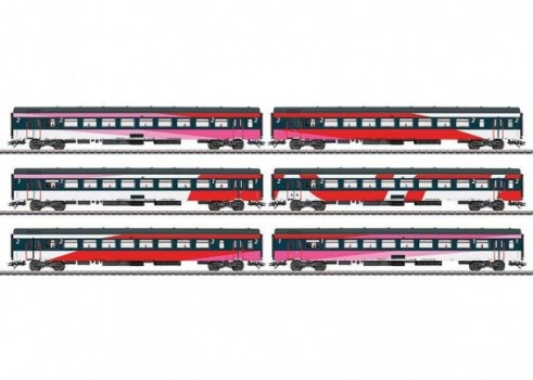 ICRm IC Express Train Passenger Car Set