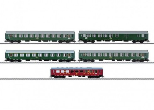 Inter-Zone Express Train Passenger Car Set, Type YB 70