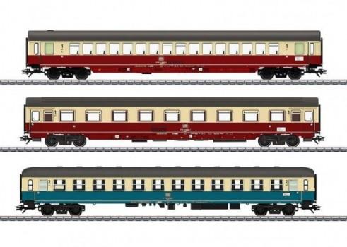 IC Express Train Passenger Car Set