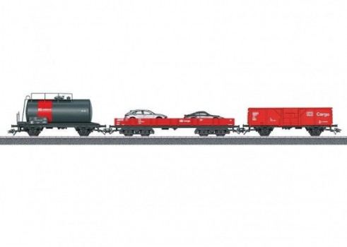 Cargo Freight Car Set