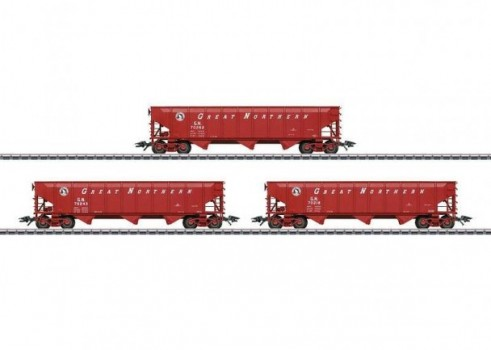 Set with 3 Hopper Cars