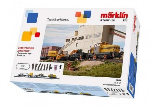 """Märklin """"Ehitusplats"""" Stardikomplekt"""