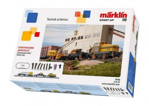 "Märklin Start up - ""Construction Site"" Starter Set. 230 Volts"