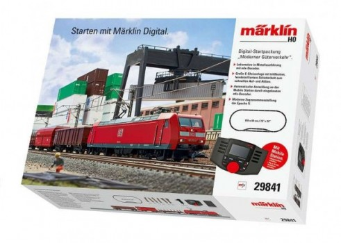 """Modern Freight Service"" Digital Starter Set. 230 Volts"
