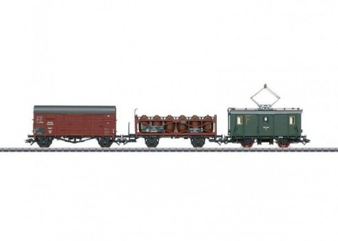 Train Set with a Class ET 194 Freight Powered Rail Car