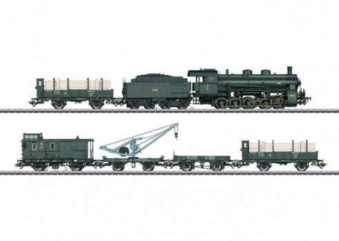 """Bavarian Freight Train"" Train Set"