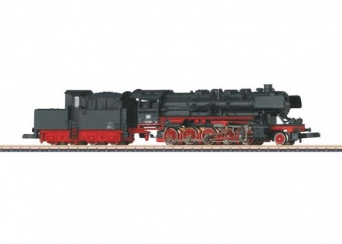 Heavy Freight Locomotive with a Tender with a Brakeman's Cab
