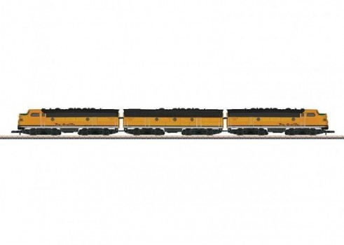 American Diesel-Electric Locomotive as a Three-Unit Combination