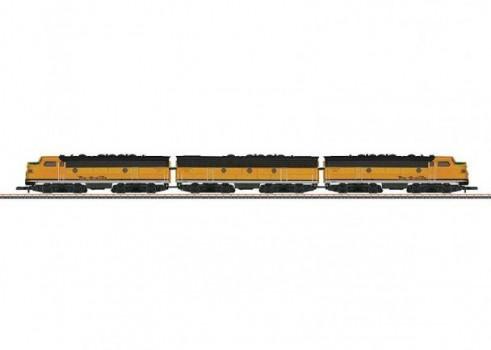 American Diesel-Electric Locomotive as a Three-Unit Combination