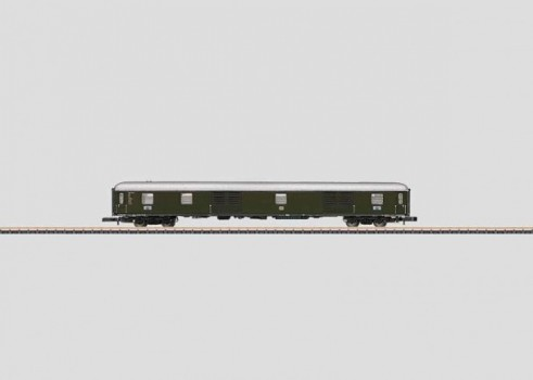 Express Train Baggage Car
