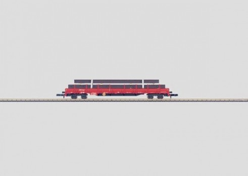 Four-Axle Flat Car