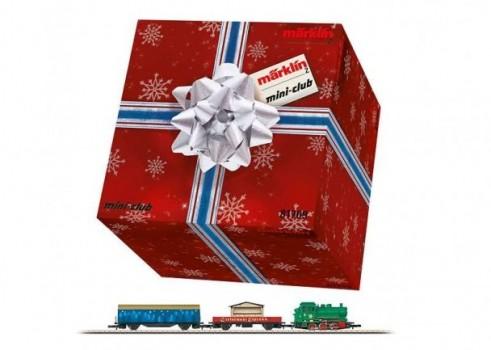 Jõulu stardikomplekt -ovaalse ringiga kaubarongile Z mõõtkavas