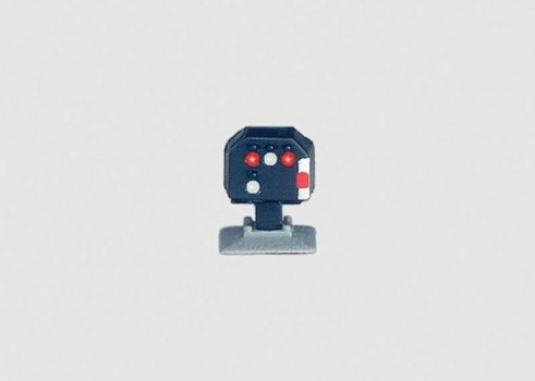 Dwarf Color Light Yard Track Block Signal