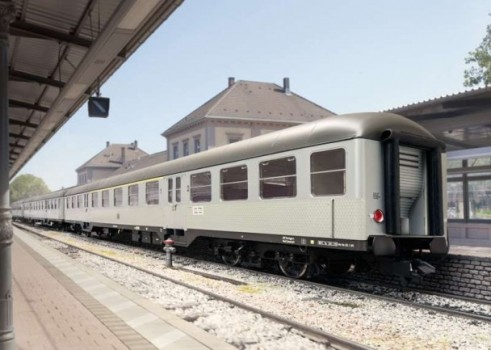 """Silberlinge"" Commuter Car Set"