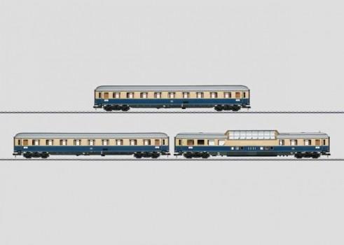 """Rheingold 1962"" Express Train Passenger Car Set"