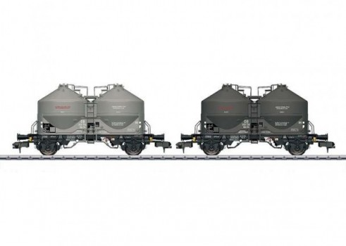 Powdered Freight Silo Container Car Set