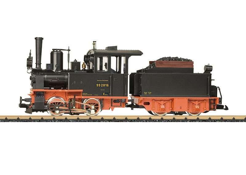 DRG Road Number 99 2816 Locomotive with a TenderDRG Road Number 99 2816 Locomotive with a Tender