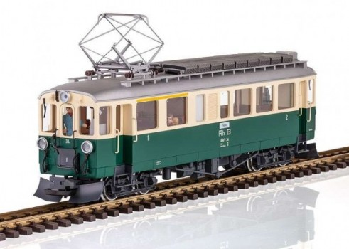 RhB ABe 44 Powered Rail Car, Road Number 34