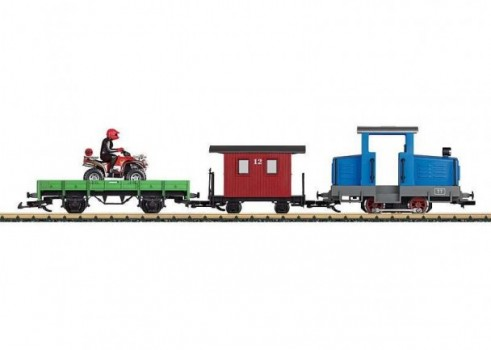 Toytrain Large Railroad Starter Set, 230 Volts