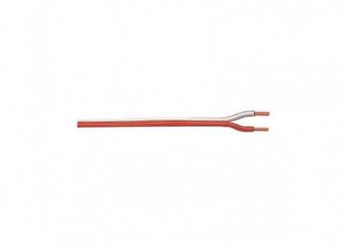 OrangeWhite 2-Conductor Wire, 20Meters 65 feet 7 inches