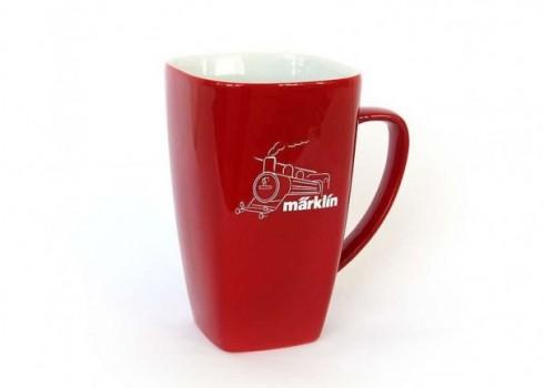 Porcelain cup steam locomotive