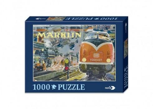 "Nostalgic Puzzle ""Train station"", 1000 pieces"