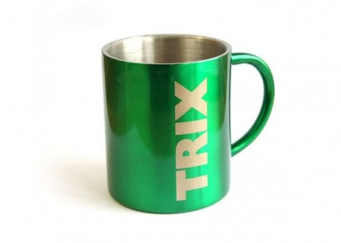 Aluminium drinking cup Trix
