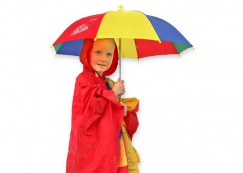 Child's Umbrella, Colorful