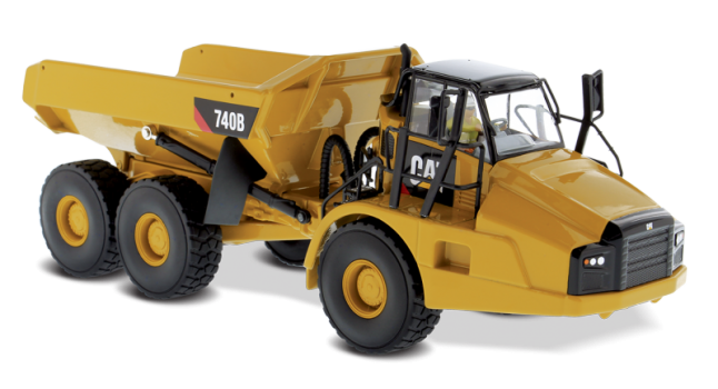 740B Articulated Truck