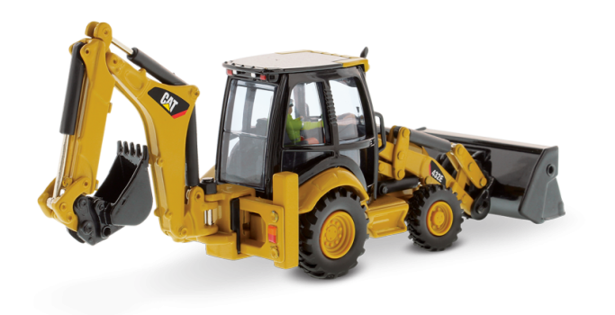 432E Side Shift Backhoe Loader