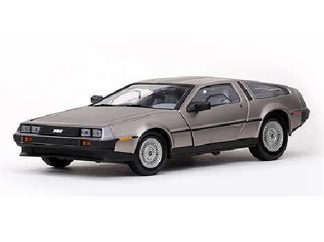 1981 DE LOREAN DMC 12 COUPE Stainless Steel Finish