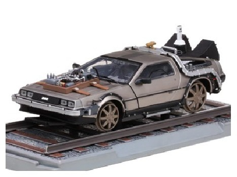 "DE LOREAN ""Back to the Future"" Part III Railroad version"
