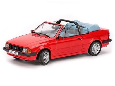 1984 FORD ESCORT Mk3 GL CABRIO