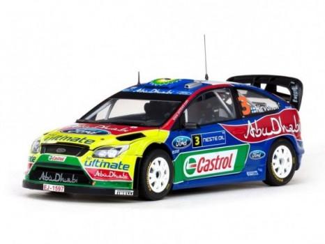 Winner Rally Finland 2009 FORD FOCUS RS WRC09 - 3 M.HirvonenJ.Lehtinen