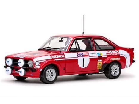 Winner Welsh International Rally 1975 FORD ESCORT MKII - 1 R.ClarkJ.Porter