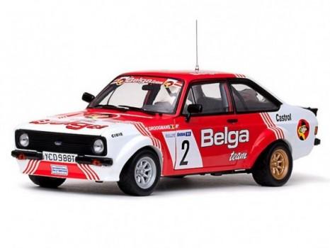 Winner &352koda Rally 1981 Ford Escort RS1800 - 2 R.DroogmansA.Geron