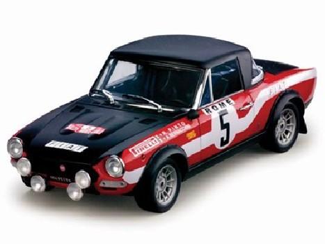 Winner 1973 Rallye Monte Carlo Fiat 124 ABARTH - R.Pinto A.Bernacchini