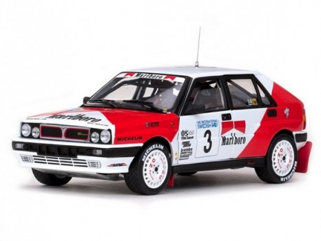 International Swedish Rally 1989 LANCIA DELTA INTEGRALE - 3 M.EricssonC.Billstam