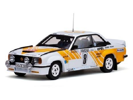Rally Monte Carlo 1980 OPEL ASCONA 400 RALLY - 8 J.KleintG.Wanger