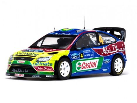 FORD FOCUS RS WRC09 - 4 J-M.Latvala M.Anttila