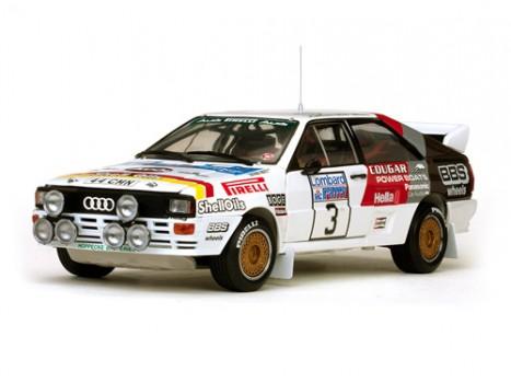 Audi Quattro A2 - 3 H.Mikkola-A.Hertz