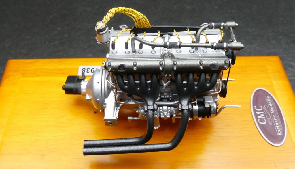 Cmc Alfa Romeo 8c 2900 B 1938 Engine With Showcase Model Shop