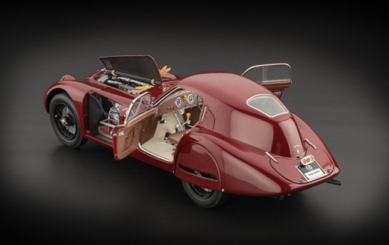 CMC Alfa Romeo 8C 2900B Speciale Touring Coupè, 1938