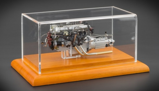 CMC Aston Martin DB4 GT, 1961 Engine with Showcase