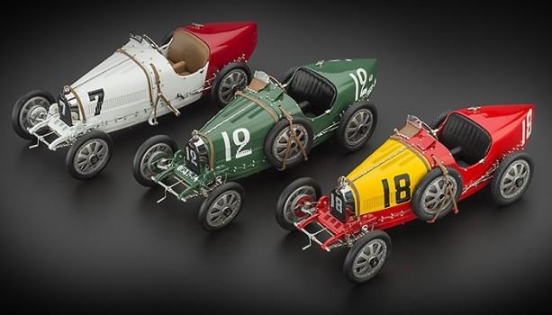 CMC Bugatti T35 Nation Color Project - Great Britain, 1924
