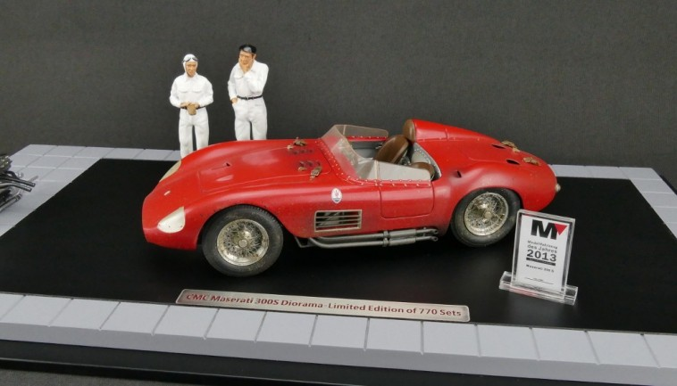 Cmc Bundle Maserati 300s Dirty Hero Including Engine 2 Figurines