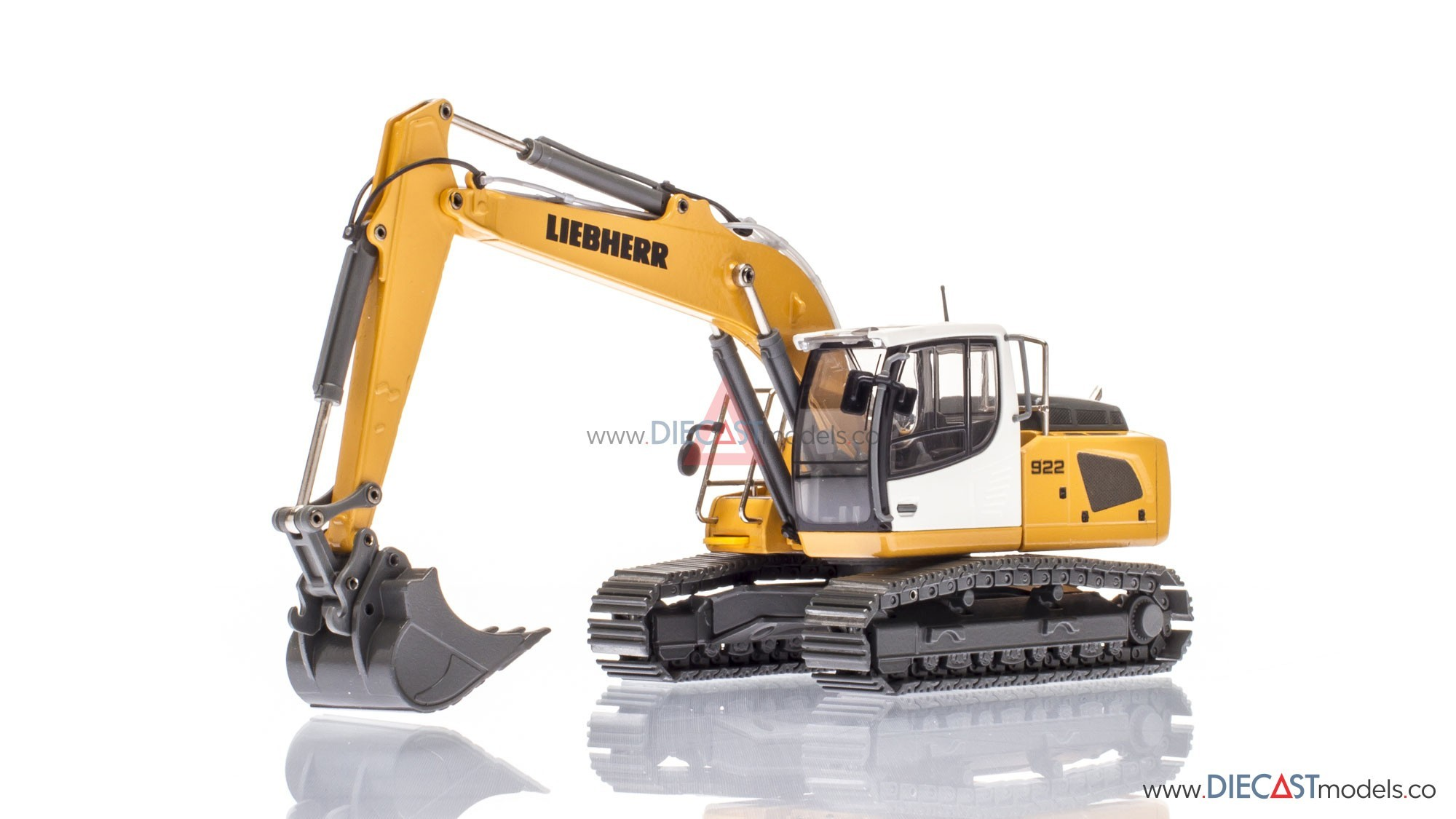 liebherr r 922 crawler excavator model shop. Black Bedroom Furniture Sets. Home Design Ideas