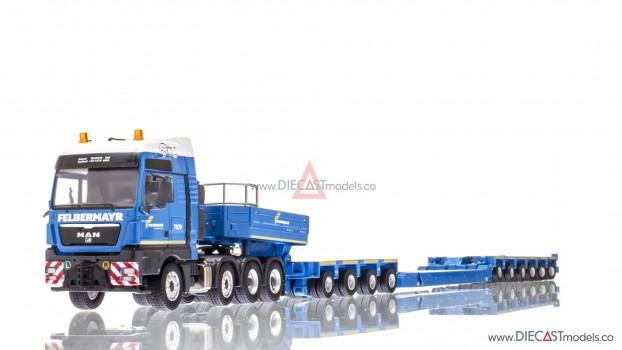 MAN TG XXXL Tractor wGoldhofer Vessel Trailer Felbermayr