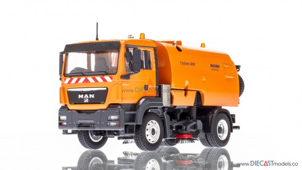 MAN With Bucher-Schorling CITIFANT 6000 Road Sweeper